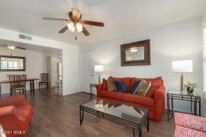 Condo is being sold Fully Furnished including kitchenwares.