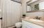 Master Bath, shower/tub combo
