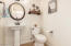Downstairs Powder Bathroom