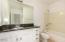 Split Guest Bath with Tub/Shower Combo
