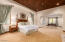 Master Bedroom with Large Sitting Area or Office Space