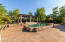 Lots of Sunning Area around Hand Chiseled Cantera Pool Surround