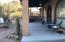 The front porch overlooks the Superstition Mountains and offers beautiful view of several mountain ranges