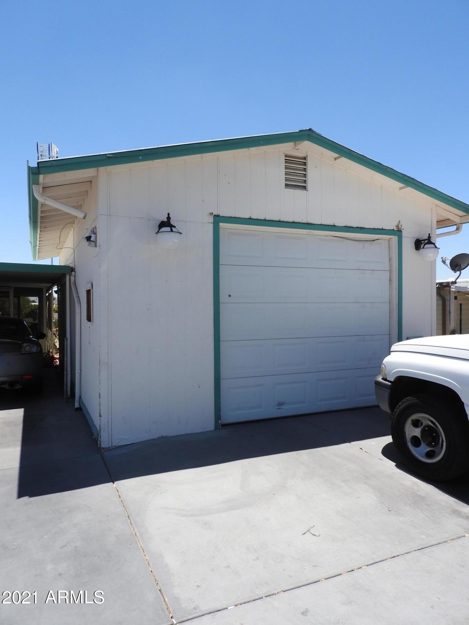 Oversized Seperate Garage