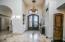 Foyer with Elegant Doors