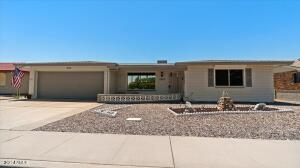 Home is right across the Street from the Golf Course with Views of the Superstition Mountains!