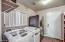 Off the kitchen is the combo laundry/pantry and it's HUGE!