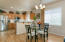 Kitchen with Breakfast Bar and Great Room Dining Area