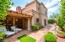 rear yard w/saltillo tiled patio