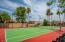 La Vida community tennis court