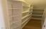 2nd walk-in pantry/additional storage adjacent to dining room