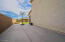 45' x 14.5' concrete side yard behind RV gate for additional parking and play