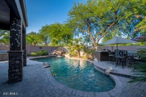 Amazing pool with slide