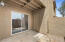 Patio and storage closet