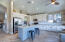 Stainless steel appliances (refrigerator stays for the buyer).
