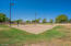 Sand volleyball courts.