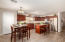 Dinning and kitchen space