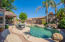 Single-level home with a pool? YES!