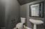 1/2 Bath (downstairs)