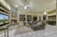 Family Room opens to kitchen and casual dining area.