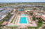 Lap pool, communtity center, grass area, tennis courts, and more!