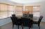 Bay windowed private Dining Room