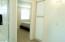Upstairs hall linen closet