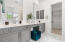Second en-suite Bath with dual vanity and walk in Closet