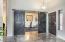 Front Door Interior and New Barn Doors