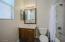 Bedroom 5 en suite Bath (downstairs)