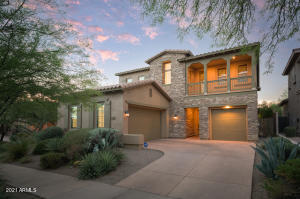 Premium corner location and directly across from the park in DC Ranch. Gated neighborhood and miles of walking trails.