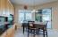 Kitchen Nook area and bonus desk area!