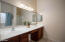 Large Master Bath with separate tub and shower - also has the large walk-in closet behind here!