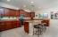 Large, open Kitchen with plenty of cabinet space