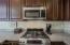 Gas Range & Espresso Cabinets