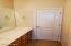 Jack and Jill bathroom for Bedrooms 2 and 3