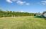 Huge backyard grassy area