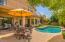 Back yard and Pool