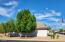 Nice shade tree on the side of the home