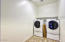 Washer & Dryer with pedestals convey