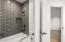 Upstairs jack & Jill bath 1 - shower