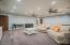 Huge basement second living room!