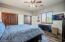 Split floorpan upstairs second bedroom