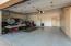 3 car garage w/ new epoxy floors