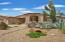 Front Elevation with beautiful native Saguaro