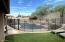 Pool showing secure enclosure