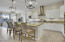 Stainless appliances, granite counters and tons of cabinet space
