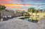 Travertine decking and pebbletec pool