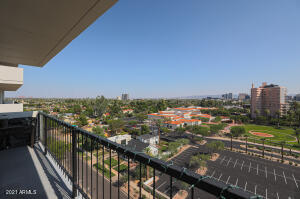 Views from Balcony at Regency on Central Unit 902