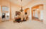 Enter into a very large Living Room and Formal Dining area